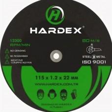HARDEX 125*1.2(Зеленый)(Отрезные)