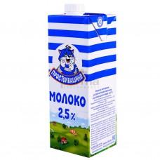 Молоко Простоквашино 2,5% 1л