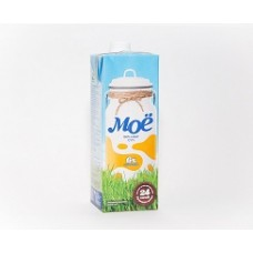 Молоко Мое 6 % 1 л