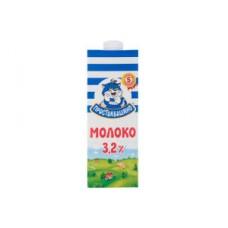 Молоко Простоквашино 3,2% 1л