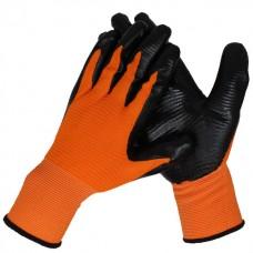 Перчатки серо-красные А-18 (B мешке 600)