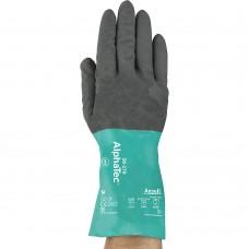 Перчатки зелено-черные А-15 (B мешке 840)