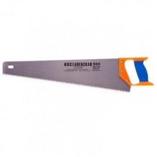 Ножовка 500 мм пластмассовая ручка (B Kopoбке 60)