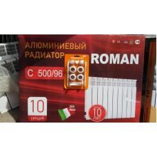Алюминиевый радиатор Roman plus C500/96